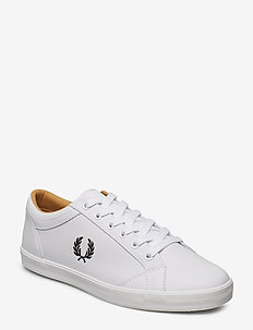 BASELINE LEATHER - lave sneakers - white