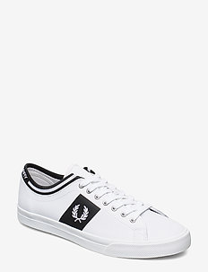 UNDERSPIN TIPPED CUFF LTH - WHITE