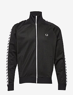 Taped Track Jacket - track jackets - black