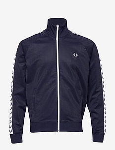 Taped Track Jacket - CARBON BLUE