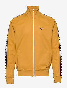 Taped Track Jacket - GOLD