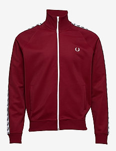 Taped Track Jacket - ROSSO
