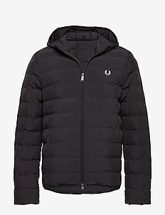 Hooded Jacket - BLACK