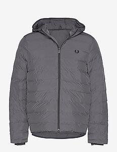 Hooded Jacket - CHARCOAL