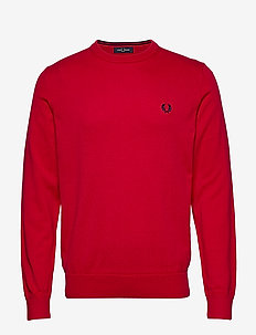 CLASSIC COTTON C/N JMPR - JESTER RED