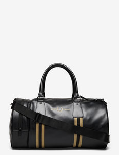 REFINED WEBB PU BRL BAG - treenikassit - black