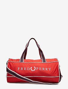 RETRO BARREL BAG - FRED'S RED