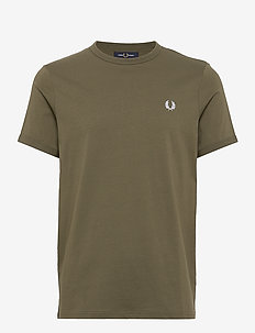 Ringer T-Shirt - MILITARY GREEN