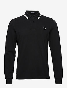 LS Twin Tipped Shirt - BLACK