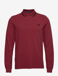 LS Twin Tipped Shirt - DARK RED