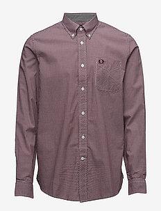 CLASSIC GINGHAM SHIRT - business skjorter - mahogany
