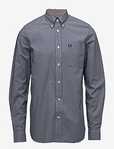 CLASSIC GINGHAM SHIRT - MEDIEVAL BLUE