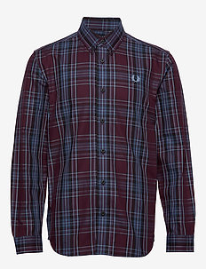 Winter Tartan Shirt - MAHOGANY