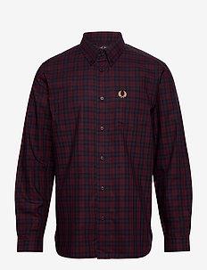 WINTER TARTAN - rutede skjorter - mahogany