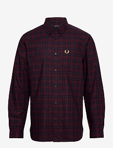 WINTER TARTAN - rutiga skjortor - mahogany