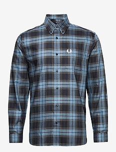 BOLD TARTAN SHIRT - rutiga skjortor - clay
