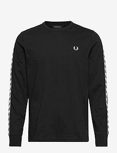 TAPED L/S T-SHIRT - perus t-paidat - black