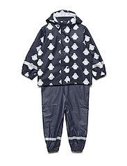 Rainwear set - NAVY