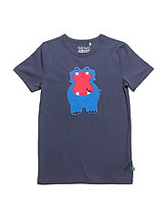 Hippo front T - NAVY