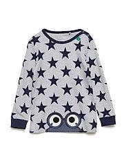 Star peep T baby - PALE GREYMARL