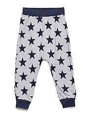 Star funky pants - PALE GREYMARL