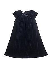 Velvet dress - NAVY