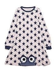 Star peep dress - ROSE
