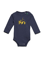Tractor embroidered body - NAVY