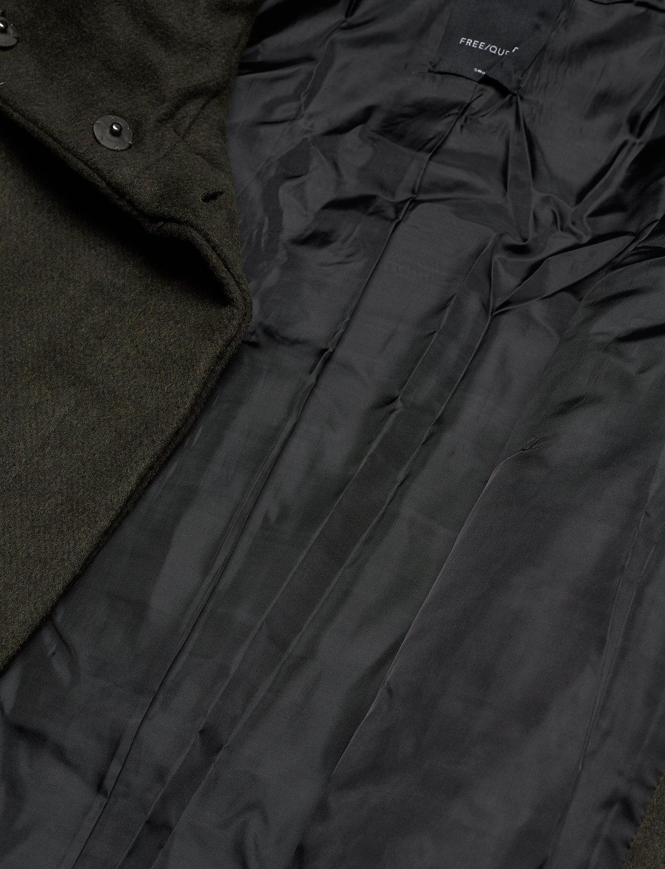 FREE/QUENT DICTE-JA - Kurtki i Płaszcze OLIVE NIGHT AS MACIA-JA - Kobiety Odzież.