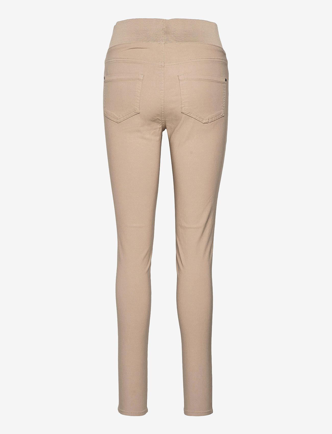 FREE/QUENT - FQSHANTAL-PA-POWER - broeken med skinny fit - beige sand as cut - 1