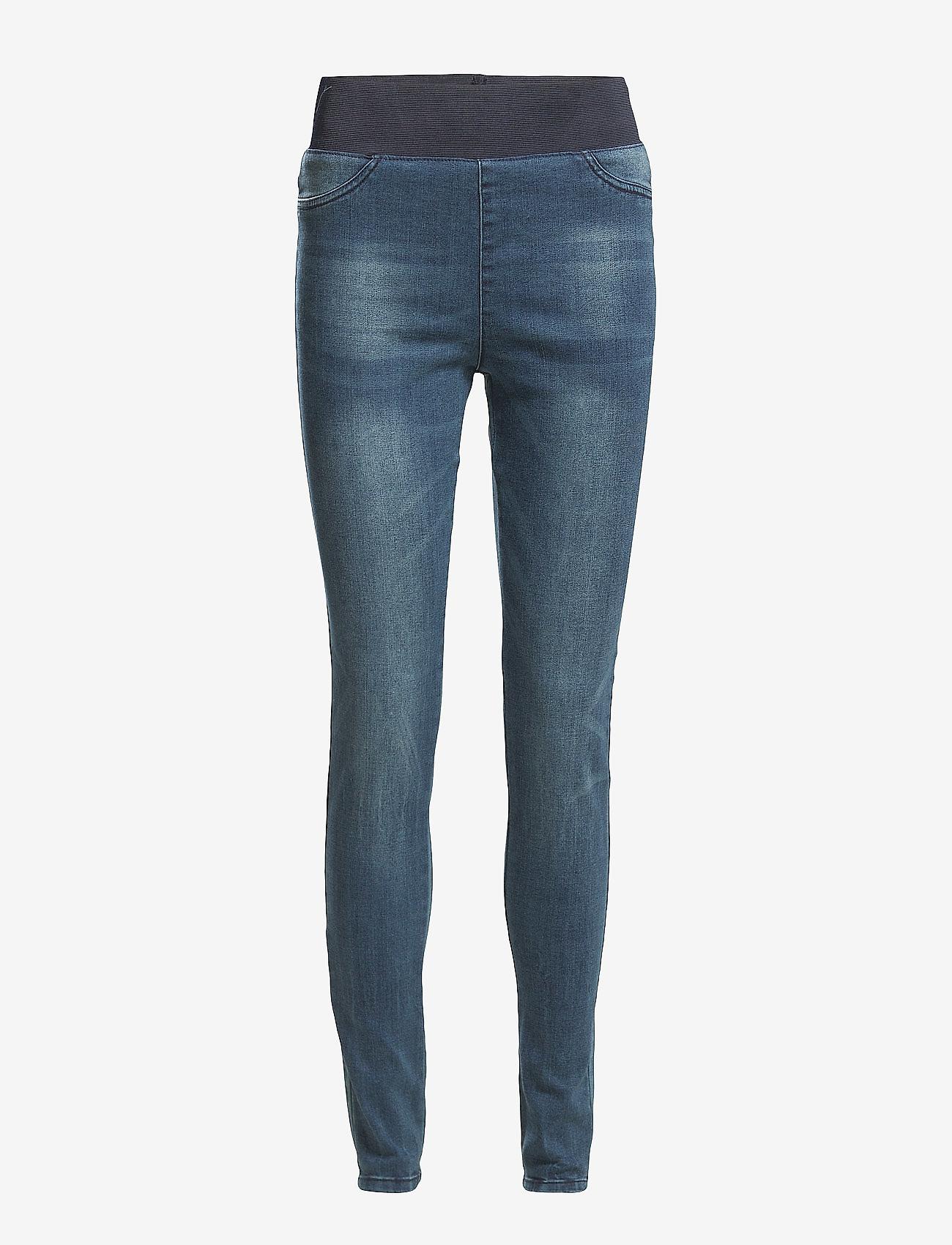 FREE/QUENT - FQSHANTAL-PA-DENIM - skinny jeans - medium blue - 0