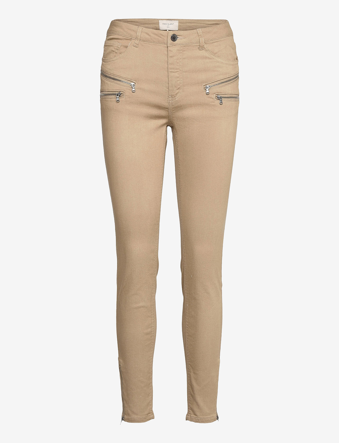 FREE/QUENT - FQAIDA-PA-7/8 - chinos - beige sand as cut - 0