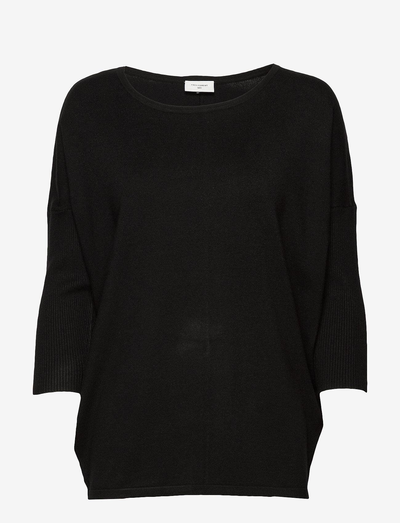 FREE/QUENT - FQJONE-PU - trøjer - black - 0