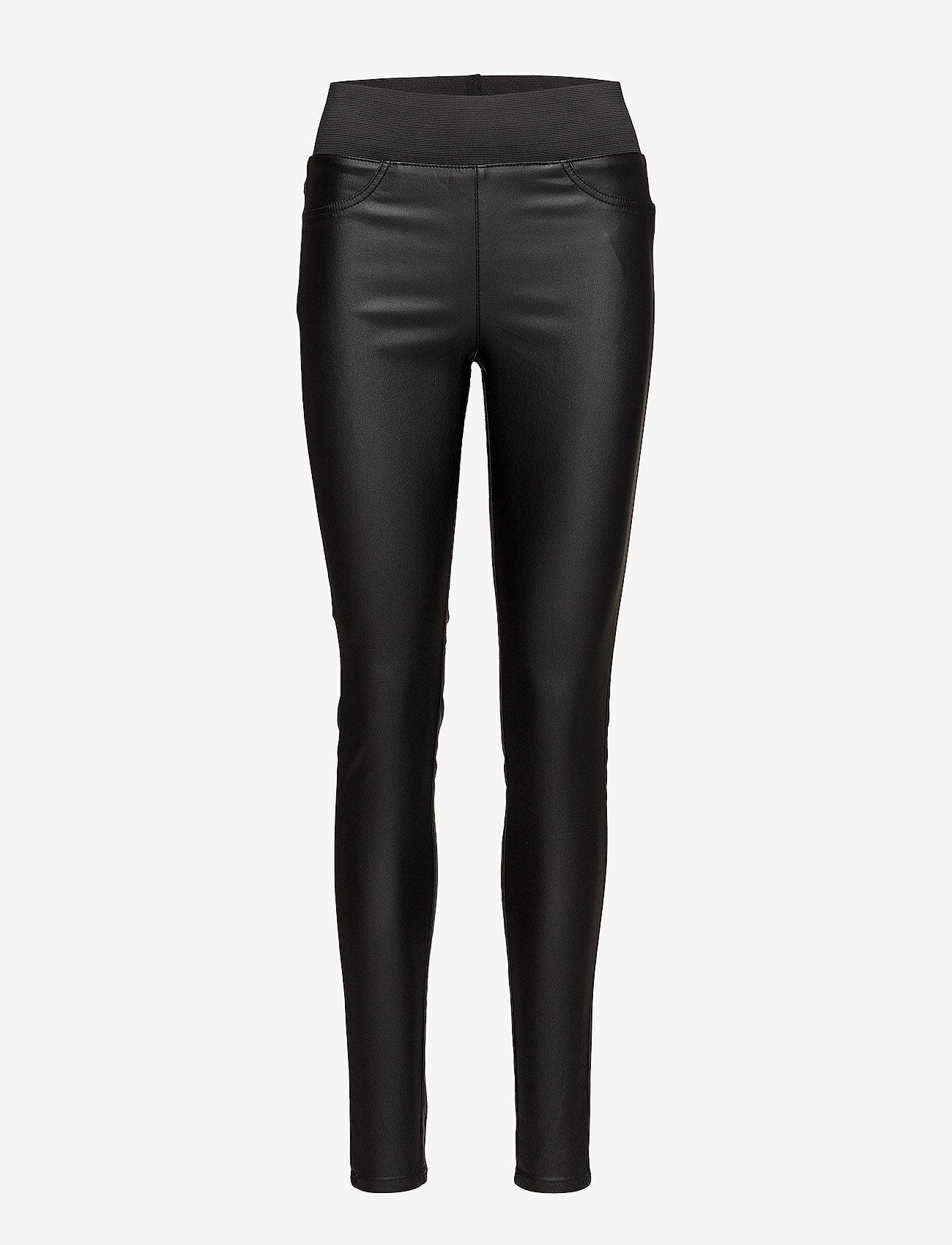 FREE/QUENT - SHANTAL-PA-COOPER - broeken med skinny fit - black - 0