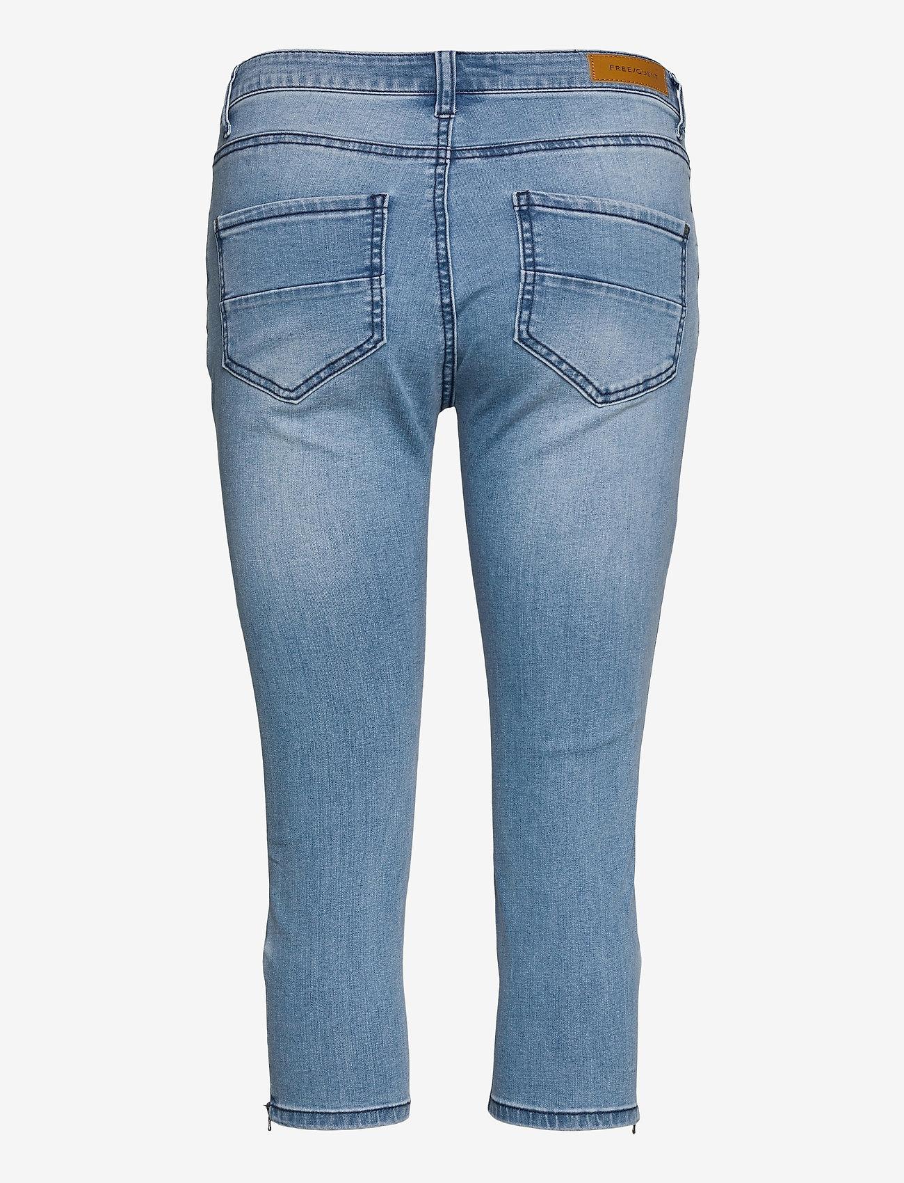FREE/QUENT - AIDA-CA-DENIM - slim jeans - light blue denim - 1