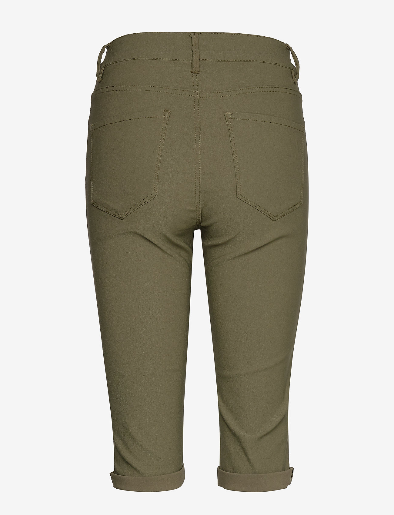 Free/quent Amie-sho-power - Shorts Burnt Olive 18-0521 Tcx