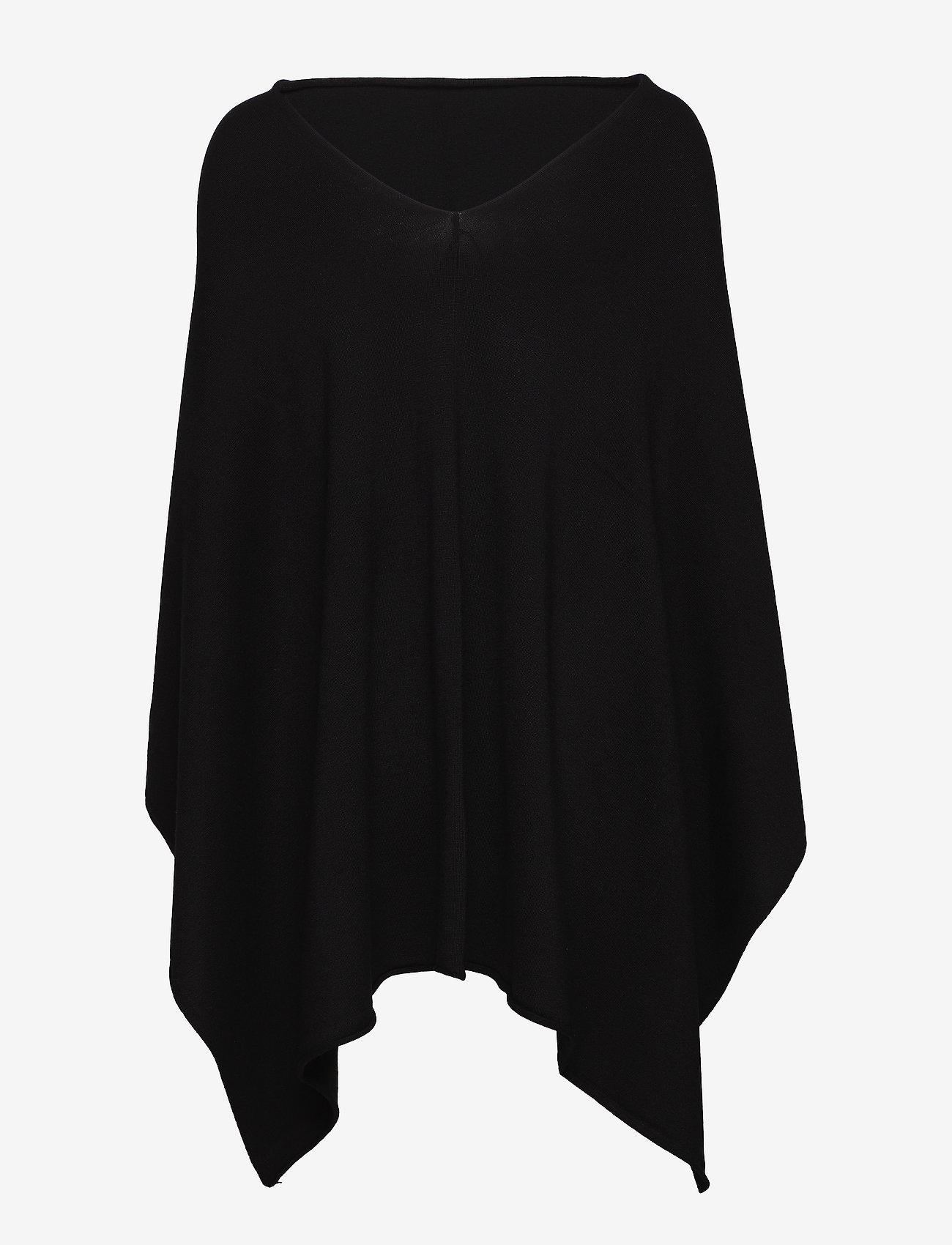 FREE/QUENT - FQCLAUDISSE-S-CAPE - ponchos en capes - black - 1