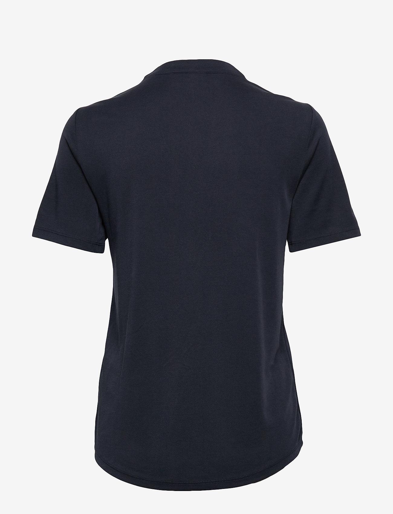 FREE/QUENT - FQYR-SS-BL - t-shirts - salute 19-4011 - 1