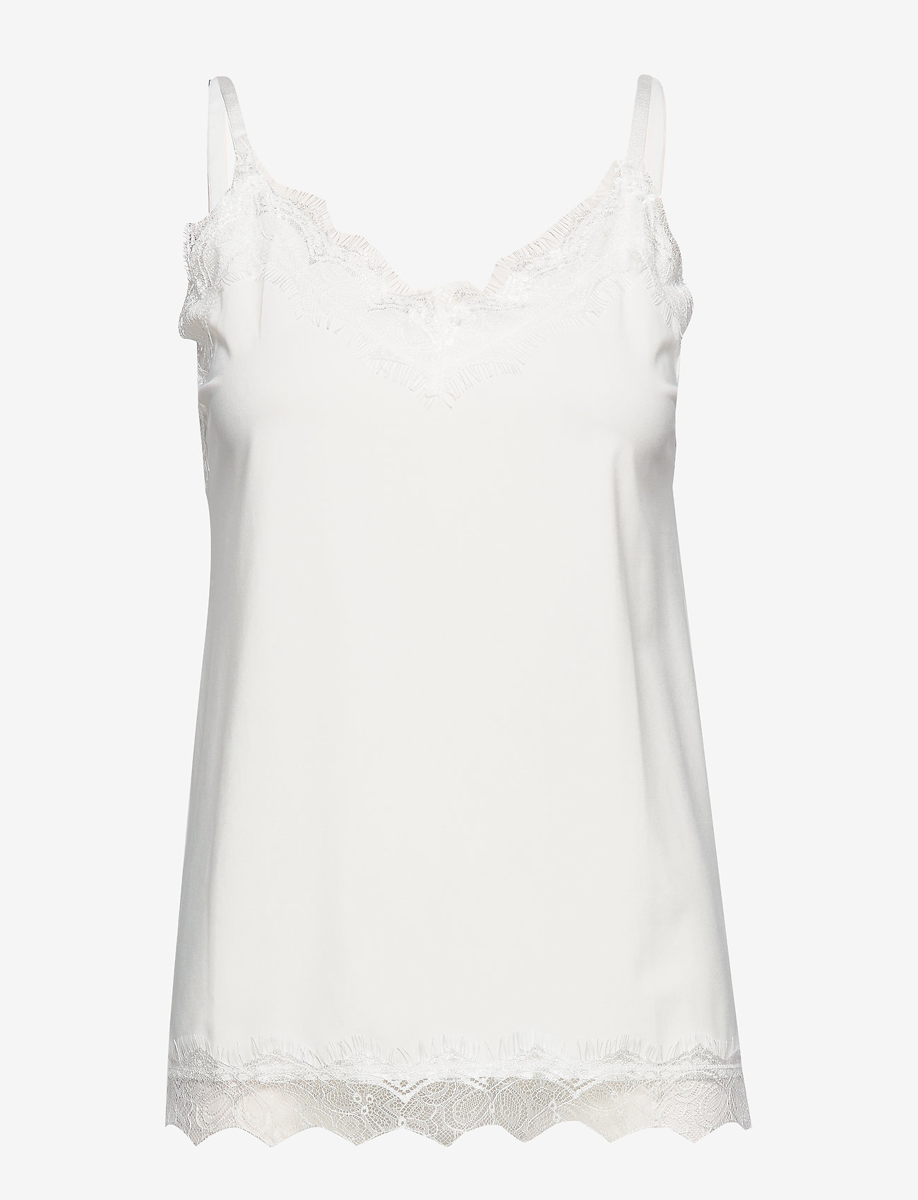 FREE/QUENT - FQBICCO-ST - Ærmeløse toppe - offwhite 11-4800 - 0