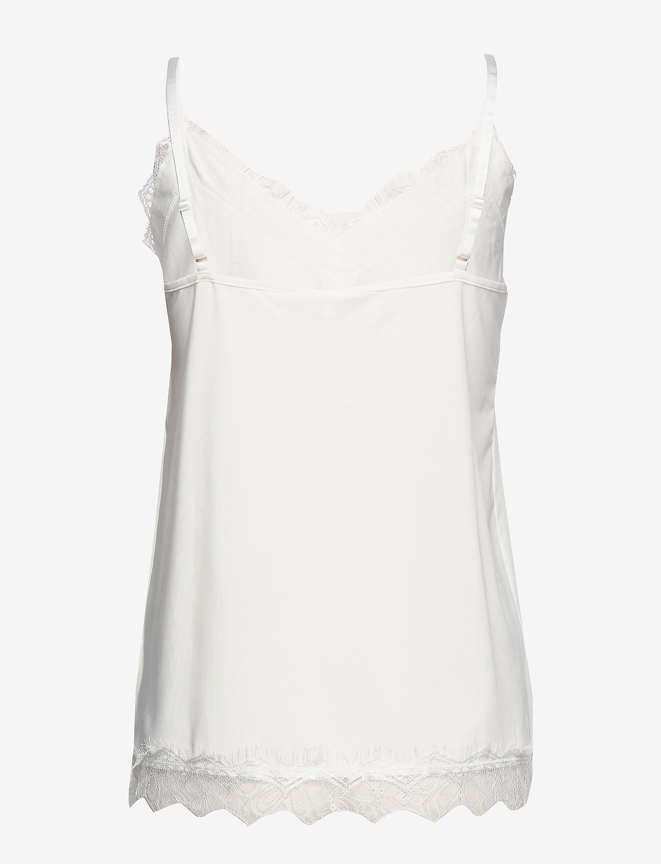 FREE/QUENT - FQBICCO-ST - Ærmeløse toppe - offwhite 11-4800 - 1