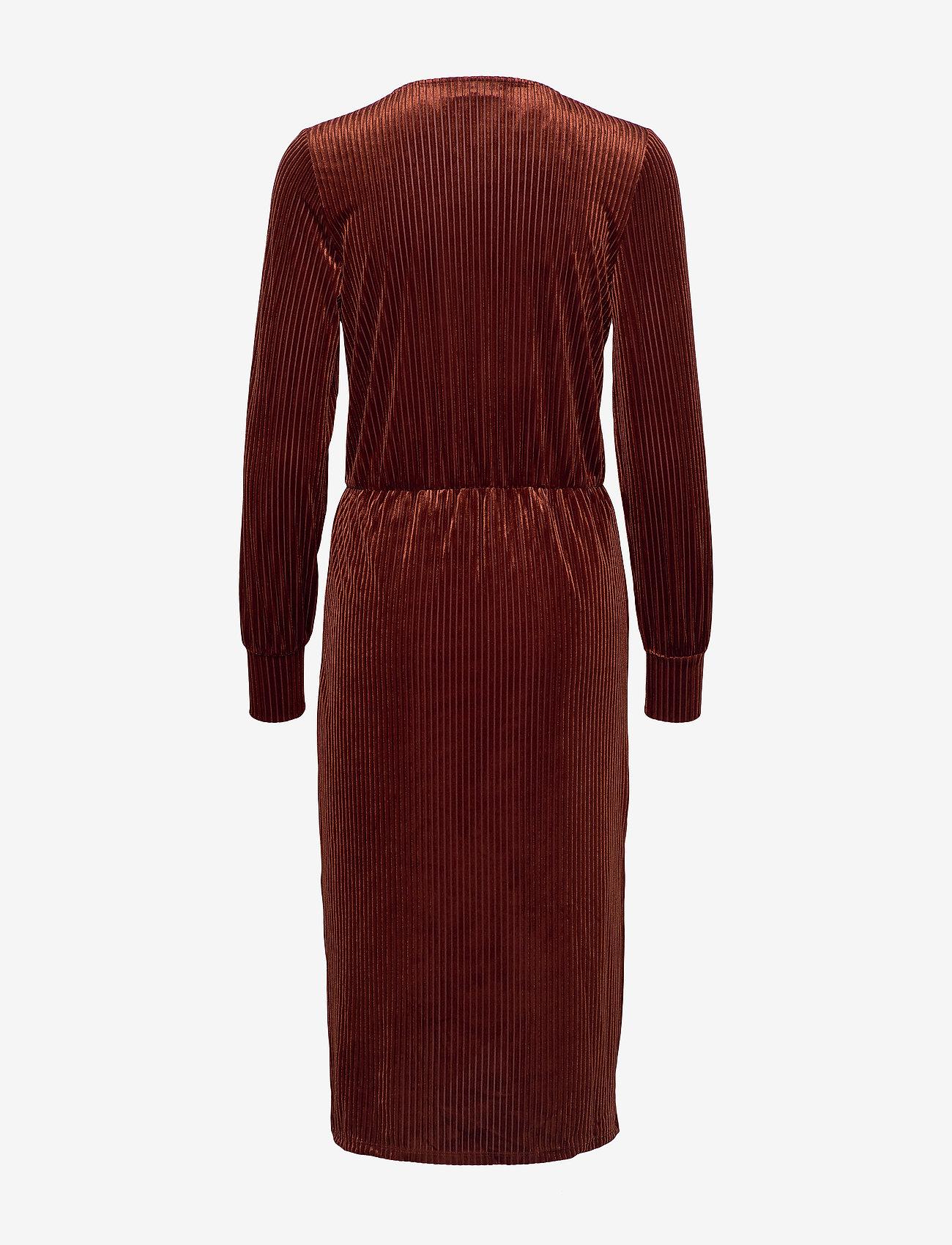 FREE/QUENT FQELLIE-DR - Sukienki BRANDY BROWN 19-1541 - Kobiety Odzież.