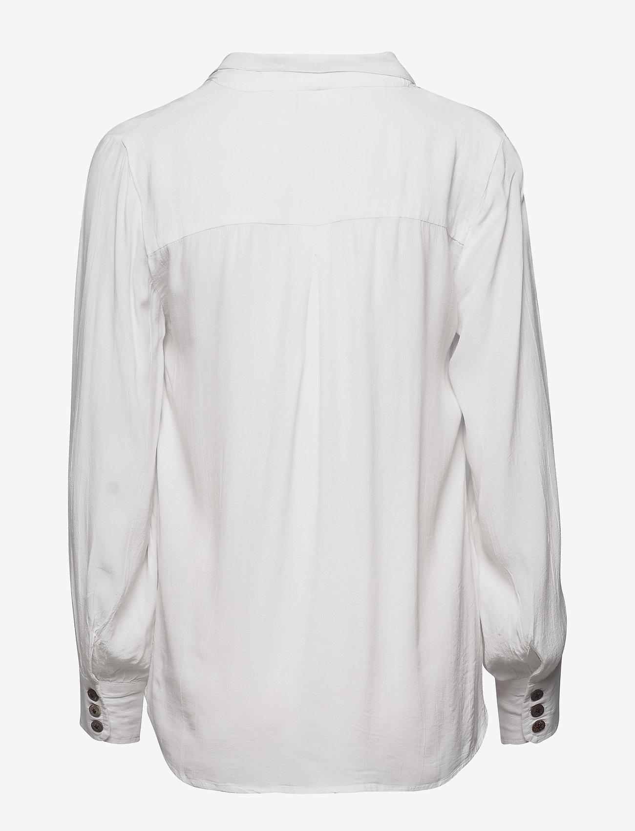 FREE/QUENT FQGIA-SH - Bluzki & Koszule OFFWHITE 11-4800 - Kobiety Odzież.