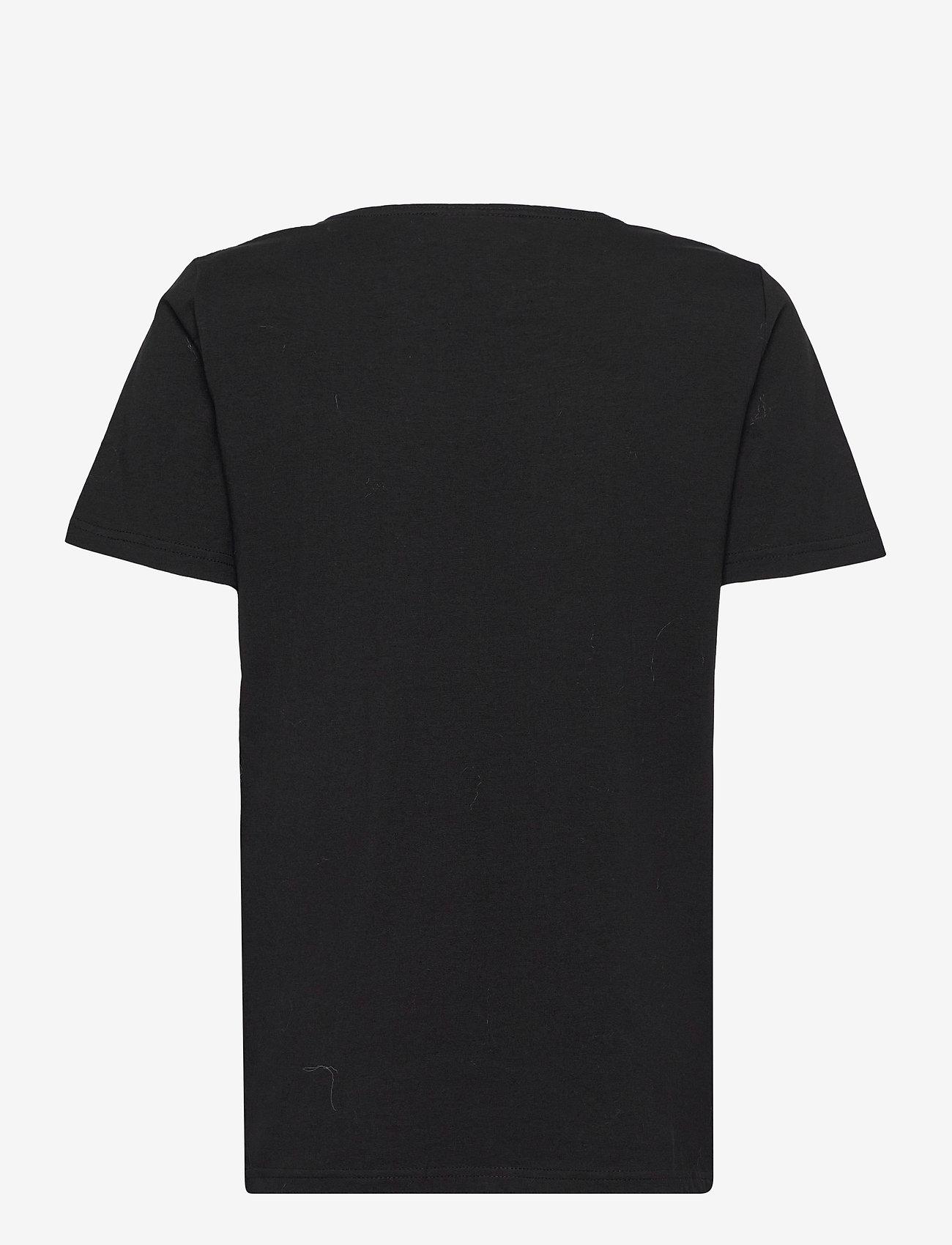 FREE/QUENT - FQANJA-TEE - t-shirts - black mix - 1