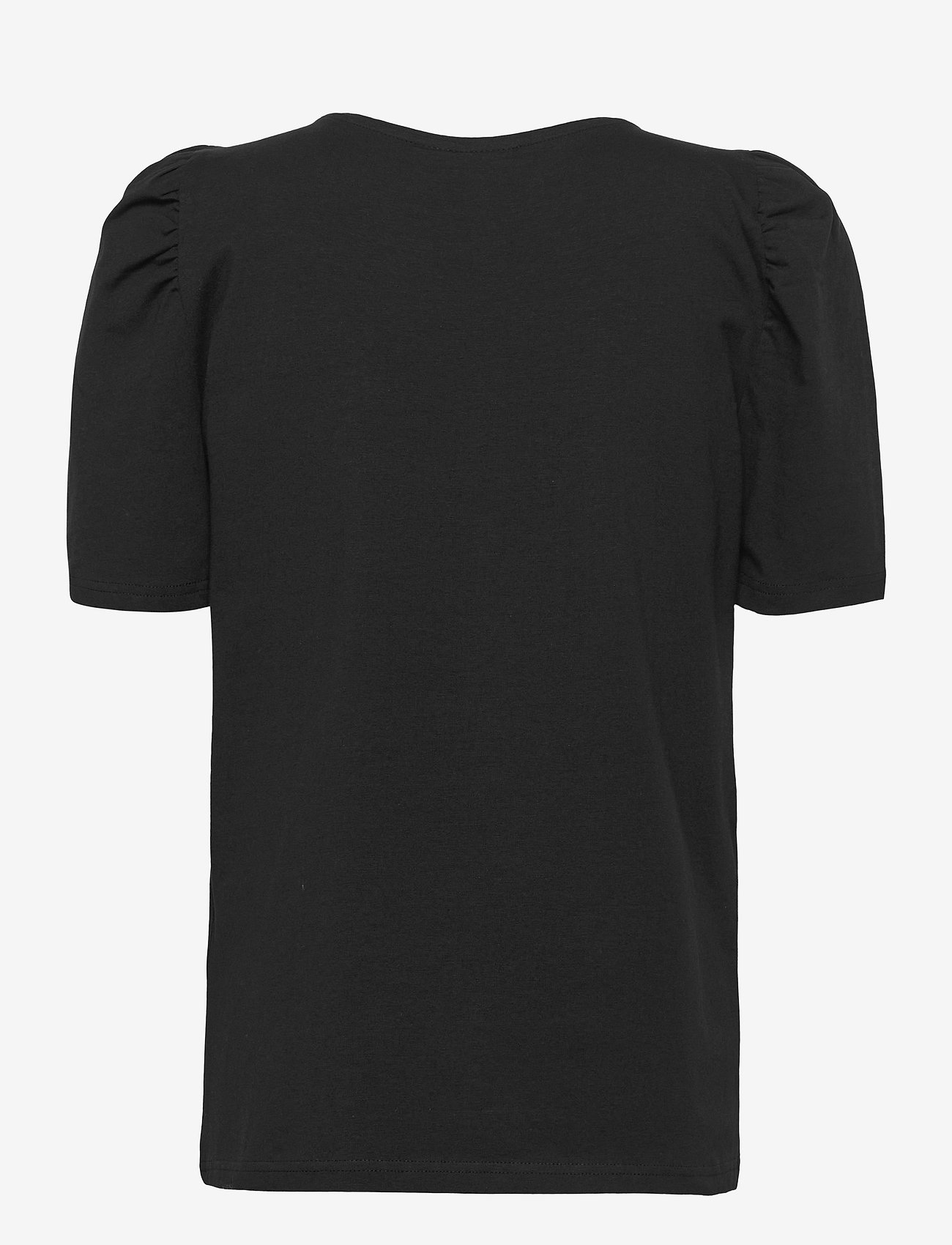 FREE/QUENT - FQFENJA-TEE-PUFF - t-shirts - black - 1