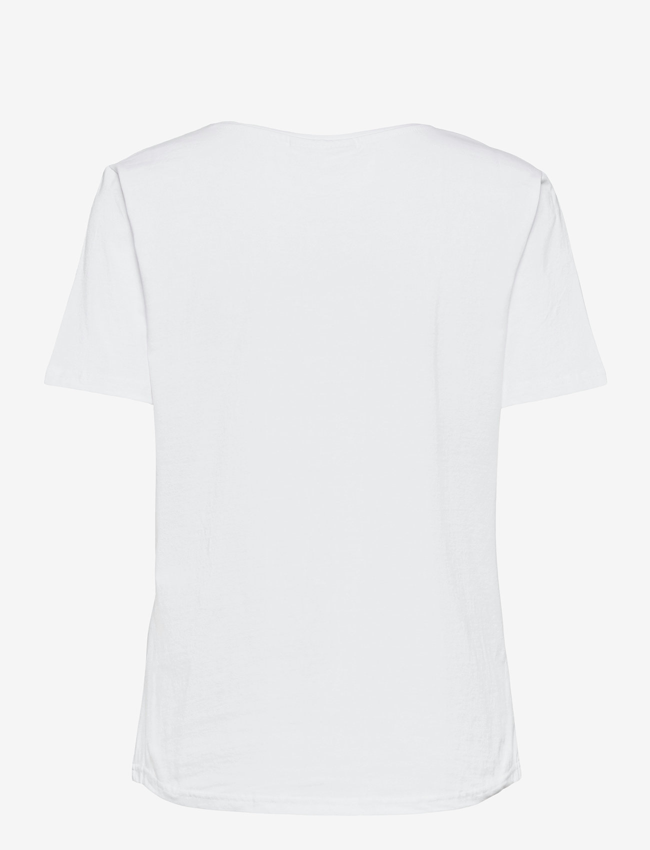 FREE/QUENT - FQHALLEY-TEE - t-shirts - brilliant white mix - 1