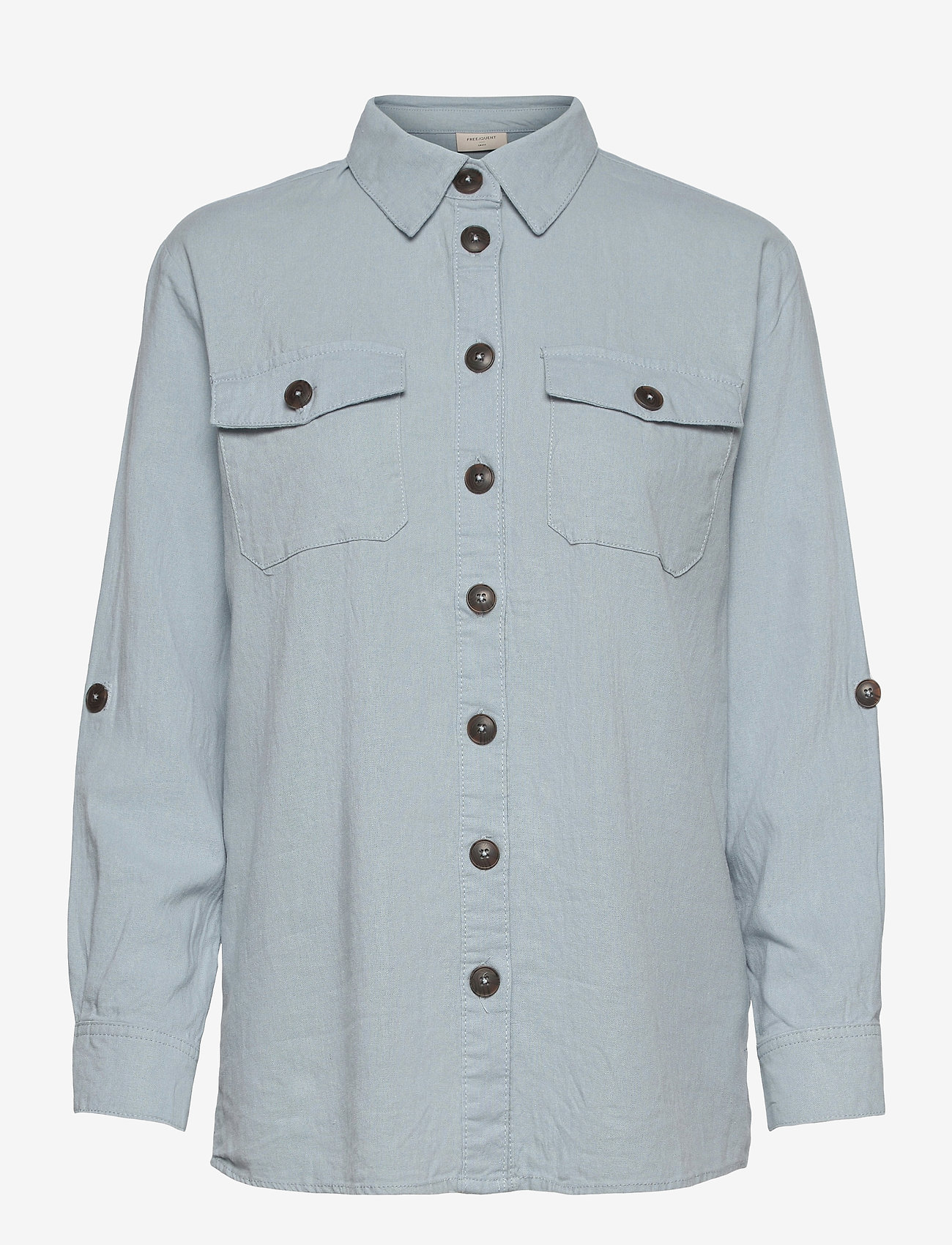 FREE/QUENT - FQLAVA-SH - langærmede skjorter - chambray blue - 0