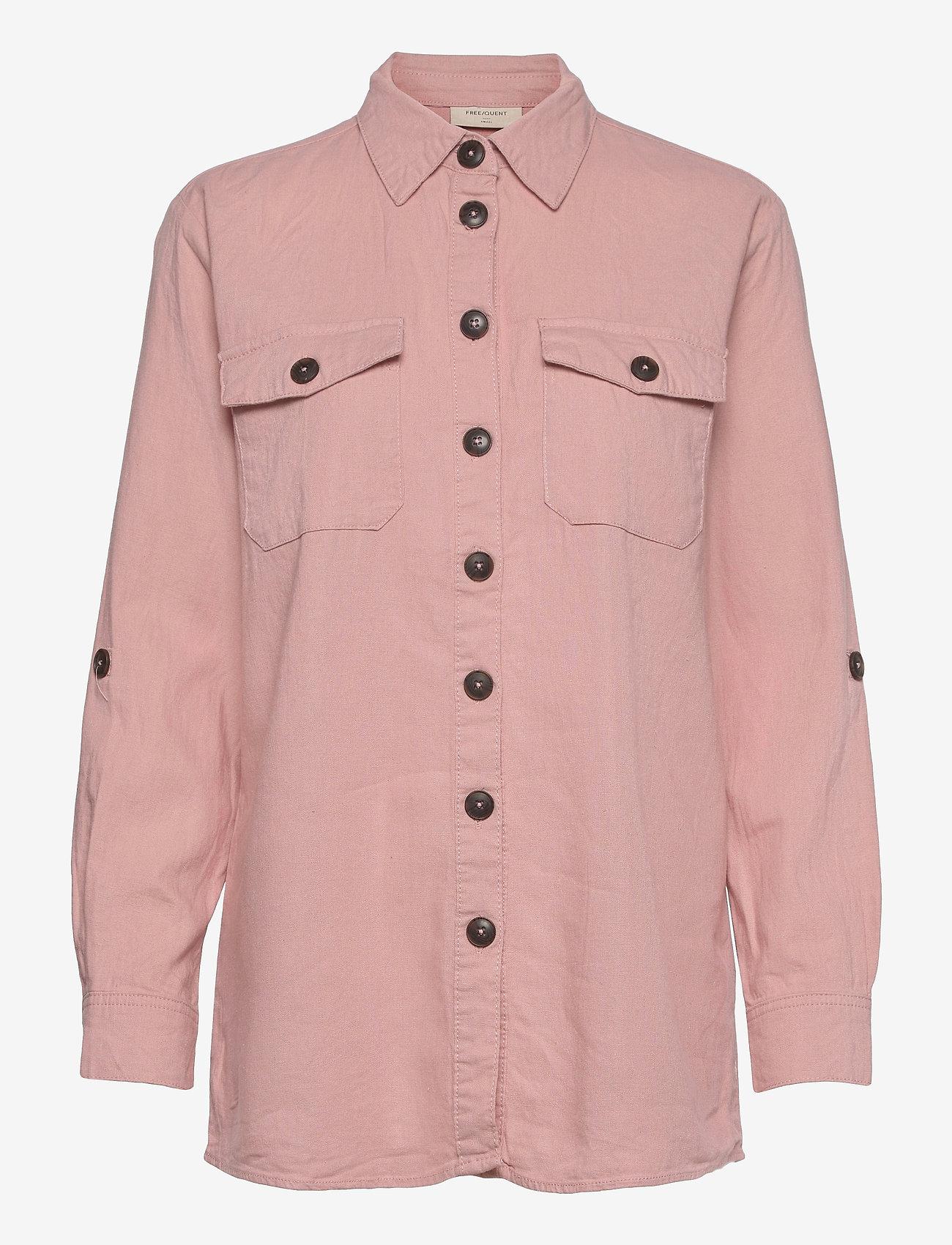 FREE/QUENT - FQLAVA-SH - langærmede skjorter - silver pink - 0