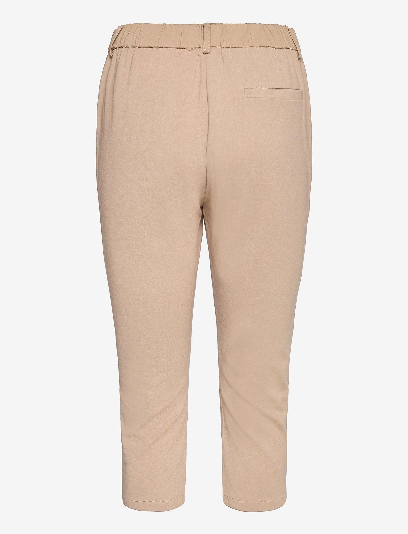 FREE/QUENT - FQHEGEN-CA-POCKET - pantalons capri - beige sand as cut - 1