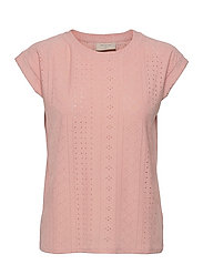 FQBLOND-TEE - SILVER PINK