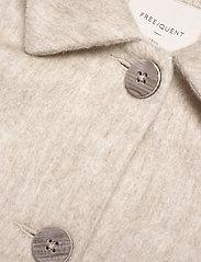FREE/QUENT - FQAMORA-JA - uldfrakker - whitecap gray melange - 2